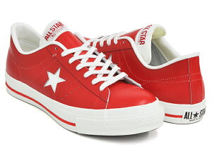 CONVERSE ONE STAR J【コンバース ワンスター ジャパン レザー】【メイド イン ジャパン 日本製 日本限定】RED