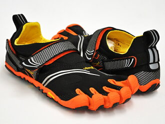 Vibram FiveFingers KOMODO SPORT BLACK / ORANGE / GREY