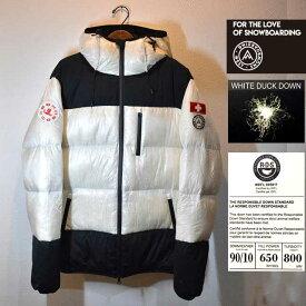 20-21 West Snowboarding DOWNJACKET ダウンジャケット SNOWBOARD ウエスト スノーボード フェザー ダウン ジャケット アウター 撥水 防風 透湿
