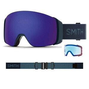 新品 20-21 Smith Goggle スミス 4D MAG FRENCH NAVY クロマポップ 送料無料 ゴーグル スノーボード アジアンフィット ジャパンフィット