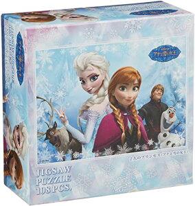 108ピース ジグソーパズル ディズニー アナと雪の女王 2人のプリンセス (18.2x25.7cm)