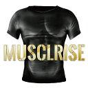 【送料無料】【4着セット】マッスライズ M〜Lサイズ プロトレーナー監修 アスリートボディー 筋肉 筋力 加圧シャツで…