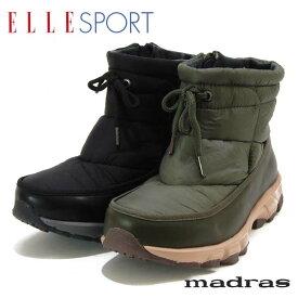 ELLESPORT エルスポーツ マドラス社製 合皮Xナイロン(撥水加工)ショートブーツ
