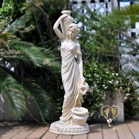 ガーデニング女神像高さ90cm/オーナメント/楽天ランキング1位獲得!!送料無料天使 置物美しいオブジェ
