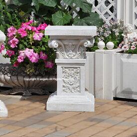 【敬老の日】ローマスタンドL エレガントコラム バラ 天使オブジェを載せる台座 ガーデニング ガーデン 雑貨 オーナメント おしゃれ 置物