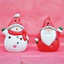クリスマスの人気者ミニサンタ置物セット【HLS_DU】