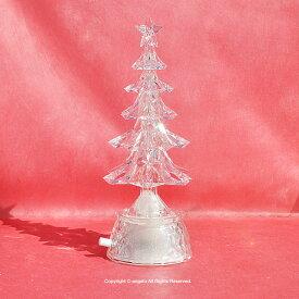 【送料無料】【あす楽】ギフト対応【X'mas】クリスマスツリー【クリスマスキャロル8曲入りオルゴール付き】LEDライト 【オルゴール】【ホワイトLEDが美しい輝き】クリスマスプレゼント女性 豪華 おうち時間 大人かわいい雑貨
