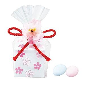 桜の小箱ドラジェ イベント 景品 粗品 お返し さくら 可愛い 和 イベント 景品 粗品 バラマキ[BW]