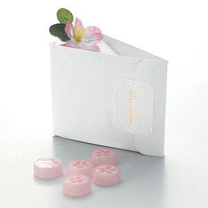 桜みやび 1個 プチギフト お菓子 飴 キャンディ 桜 サクラ さくら お洒落 大人可愛い 和 和風 和婚 結婚式 お礼 景品 粗品[HF]
