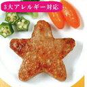スターハンバーグ(25個入り)【3大アレルギー対応(卵・乳・小麦不使用)夕食 子供のおやつ イベント 行事 学校給…