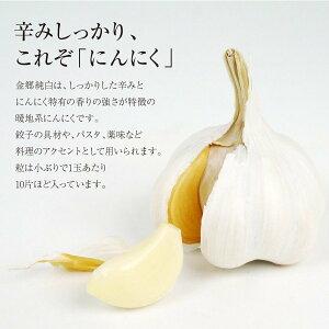 にんにく やぶひこ(金郷純白)兵庫県産・1kg (Mサイズ) 産地直送 送料無料