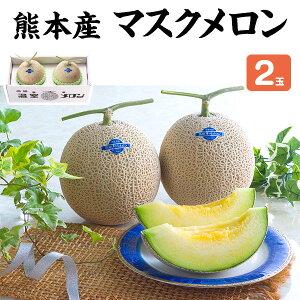 マスクメロン 2玉(1.5kg×2) 合計3kg・贈答用「果物の王様」百貨店品質の高級品・ギフト・送料無料