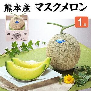 マスクメロン 1玉1.5kg・贈答用「果物の王様」百貨店品質の高級品・ギフト・送料無料