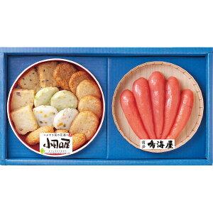 小田口屋 彩りさつま揚げ&鳴海屋 辛子明太子詰合せ 200365037