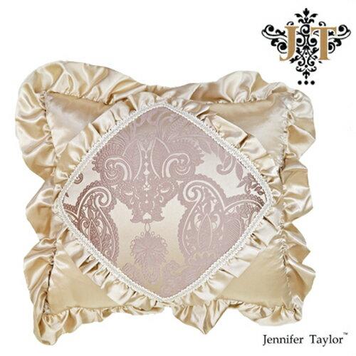 【楽天最安値に挑戦】ジェニファーテイラー クッション Jennifer Talor エルモサ ラベンダー フリル エレガント アンティーク ヨーロピアン 輸入雑貨 インテリア クッション 45×35 cushion hermosa