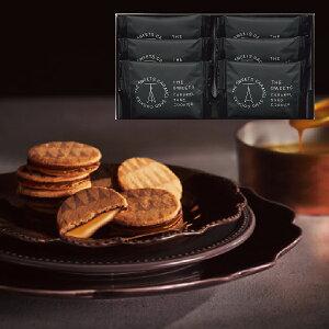 ザ・スウィーツ キャラメルサンドクッキー(6個) スイーツ 洋菓子 お菓子 ギフト かわいい 母の日 父の日 個包装 洋菓子 内祝い 祝い お返し
