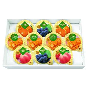 金澤兼六製菓10個 マンゴープリン&フルーツゼリーギフト(MF-10)【専用包装済】