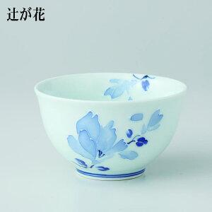 波佐見焼 TEA CUP辻が花 仙茶(175ml) 5個入 (ダンボール箱入)(73198)【送料込み価格】