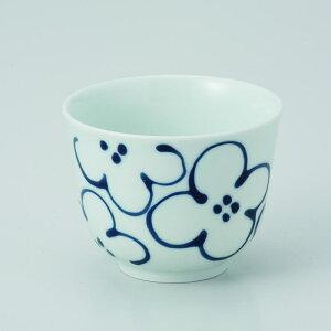 波佐見焼 TEA CUP花紋 仙茶(160ml)5個入 (ダンボール箱入)(73595)【送料込み価格】