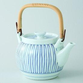 波佐見焼立枠 10号土瓶(1800ml)1個入(ダンボール箱入)陶茶こし(23196)【送料込み価格】