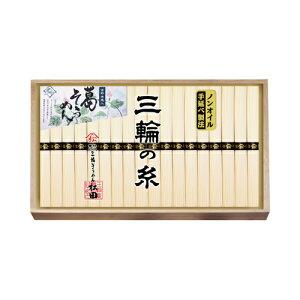 三輪素麺ノンオイル製法手延べ吉野葛入り三輪の糸(NDY-30)