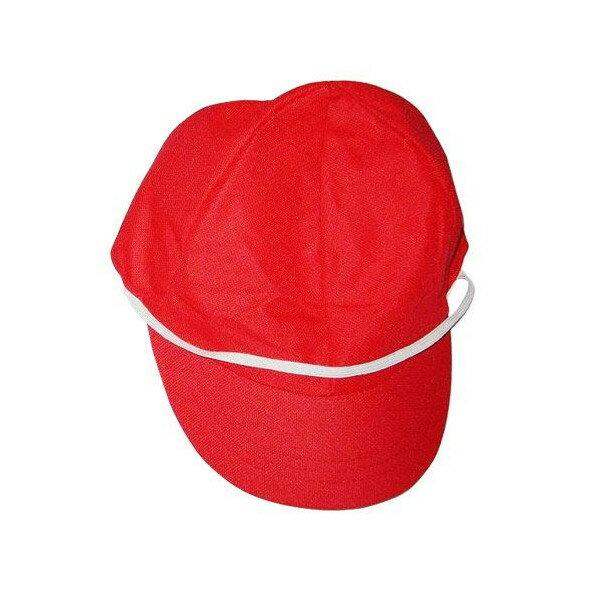 【メール便対応】赤白帽 メッシュ紅白帽子/体育帽子《メール便は3個まで同梱可》【コンビニ受取対応商品】