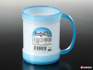 【おまとめ割】【メーカー直送品】100個セット キャンディマグ ブルー 300ml マグカップ nakaya K558-2AR【c】