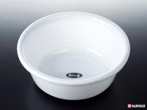 【おまとめ割】【メーカー直送品】100個セット 和み湯桶 ホワイト/洗面器【c】