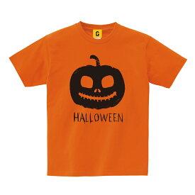 """ハロウィン 衣装 仮装 大人 大きいサイズ ハロウィーン """"おとなのかぼちゃTシャツ"""" コスプレ コスチューム 子供 キッズ Tシャツ 地味ハロウィン"""