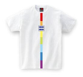 tシャツ メンズ 新潟県 お土産 ご当地Tシャツ レインボータワー 【ホワイト】 おもしろTシャツ メッセージtシャツ t shirts tsyatu おもしろ プレゼント GIFTEE