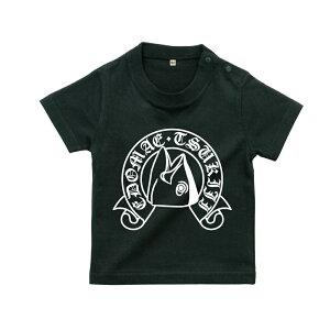 tシャツ メンズ 東京都 江戸前 築地 マグロ お土産 ご当地 Tシャツ EDOMAE TSUKIJIBABY 出産祝い ブラック おもしろTシャツ おもしろ プレゼント ギフト GIFTEE