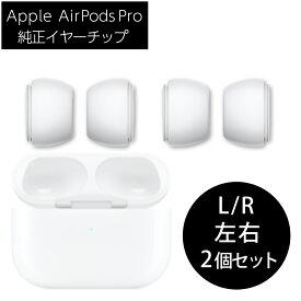 【新品外箱なし】Apple 純正 AirPods Pro イヤーチップ S&Lサイズ 2セット 交換用 アップル ライトニングケーブル