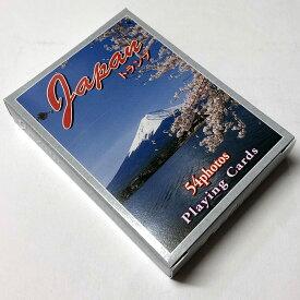 日本の観光おみやげトランプ JAPAN【カード】【日本のおみやげ】【日本のお土産】【トランプ】【ホームステイのおみやげ】【日本の観光名所写真】