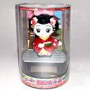ソーラー電池で動く舞妓さん人形【日本のおみやげ】【日本のお土産】【舞妓人形】【ホームステイのおみやげ】【ソーラー人形】