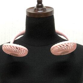 携帯扇風機 ハンズフリー ネックファン ポータブル扇風機 ピンク首かけ式扇風機 ミニ扇風機 ミニファン 3段階風量調節 USB充電式低騒音設計 長時間連続動作 卓上ミニ扇風機 電池がいらない充電式