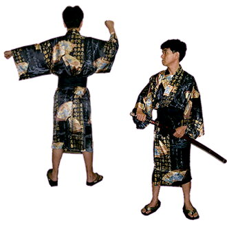 对面向外国人的shirukuhappirobu扇子龙和富士山黑