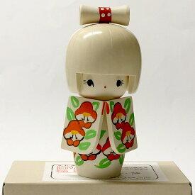 こけし 花ふぶき【人形】【ホームステイのおみやげ】【日本のお土産】【外国人への贈り物】【民芸玩具】【日本のおみやげ】