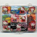 キティちゃん日本マグネット 8個セットハローキティ【Hello Kity】【日本のおみやげ】【ホームステイのおみやげ】【日本土産】