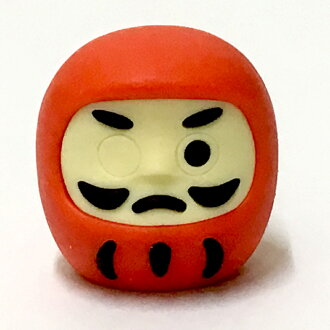 Good luck mini-fortune Dharma doll eraser