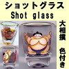 日本模式射击眼镜相扑选手 (彩色)