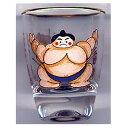 和柄ショットグラスお相撲さん(カラー)【ショットグラス】【日本のおみやげ】【日本のお土産】【外国へのお土産】【…