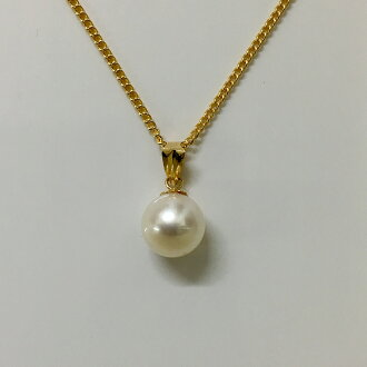 Pearl pendant (Ako and the real pearl K18 gold pendant top)