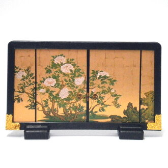 Figure of masterpiece screen Daikaku-ji Temple peony