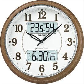 名入れ対応可 電波時計 掛け時計 ITM-900FLJ-5JF /CASIO カシオ ウエーブセプター 夜見えライトつき電波クロック ITM-900FLJ-5JF新築祝い 竣工記念 開店祝い 開業祝い