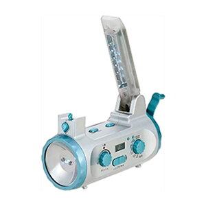 ラジオ 防災 | 防災用品 ラジオライト グローリーソーラー付 | 防災グッズ 多機能ライト 36452 | 賞品 景品 |