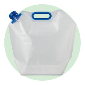 防災用品 防犯用品 PW-6 /給水袋 折りたたみ水タンク6L PW-6防災 防犯 粗品 安全大会 訓練 避難用品