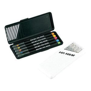 粗品 文具 | スリム蛍光ペン5本セット OW-HM5 | 販促品 | 粗品 ばらまき 景品