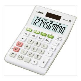 名入れ 名前 入れ 応相談 記念品 ギフト /CASIO カシオ W税率計算電卓ミニジャストタイプ MW-100TWE ホワイト プレゼント 退職記念 卒業記念