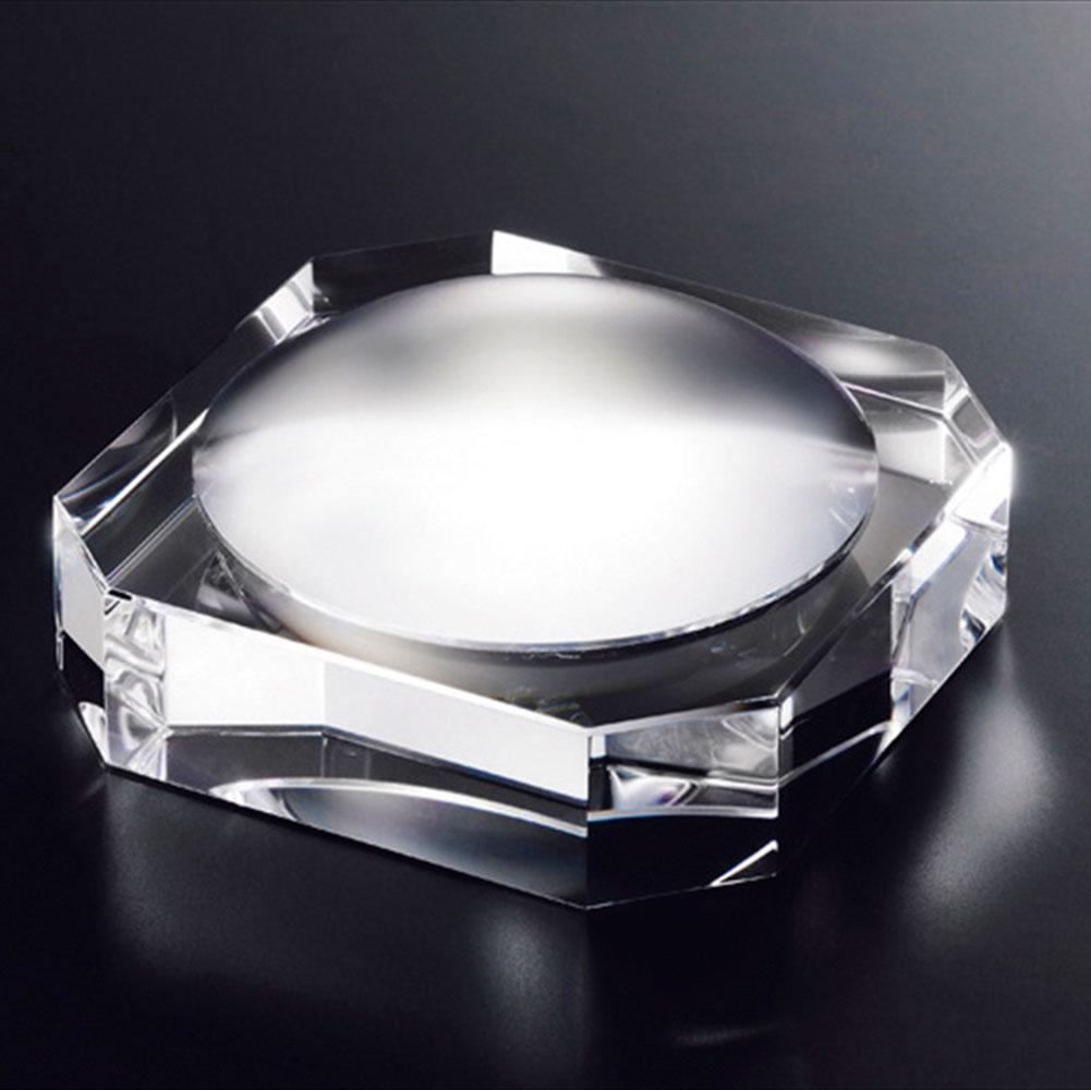 記念品 名入れnarumi glass works グラスワークスナルミ ルーペペーパーウエイト GW1000-15015 [拡大鏡] 周年記念品 プレゼント 父の日 退職記念 卒業記念