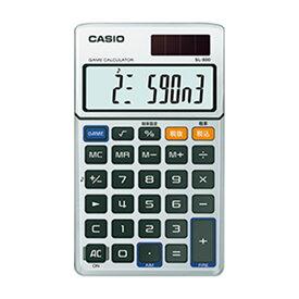名入れ 名前 入れ 応相談 記念品 ギフト /CASIO カシオ ゲーム電卓 SL-880-N プレゼント 退職記念 卒業記念